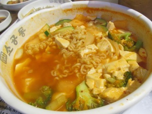 So Gong Dong, Korean Vegan Ramen Soup